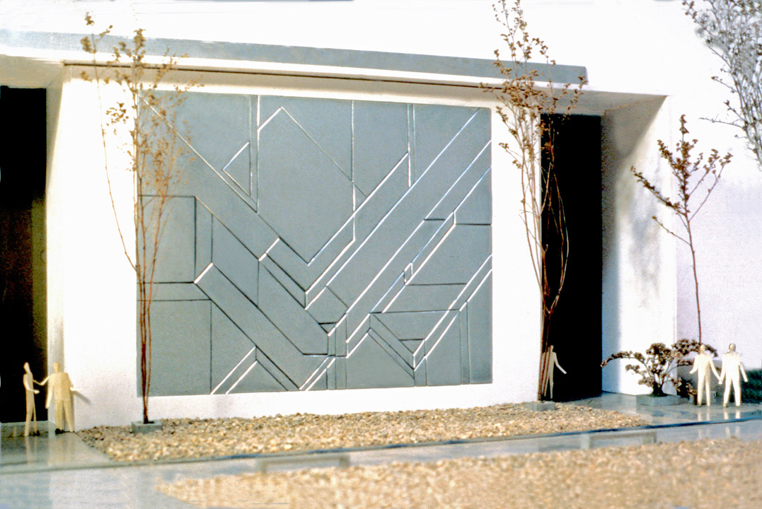 WALL RELIEF MODEL